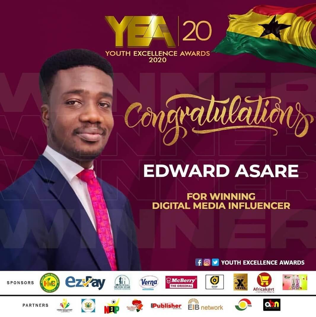 Marketing Committee Chair, Edward Asare wins Award.